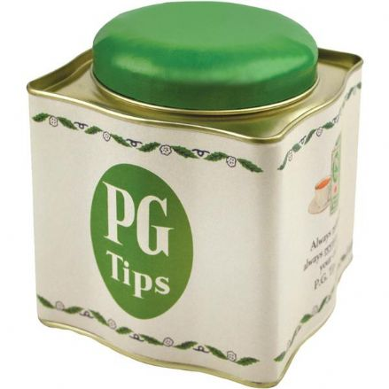 PG Tips Tea Caddy Tin